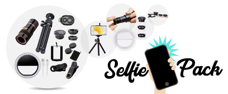 donde comprar selfie pack