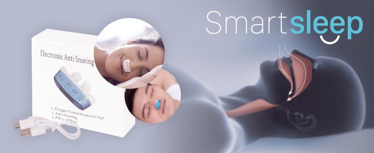 Smartsleep es la solución a los ronquidos
