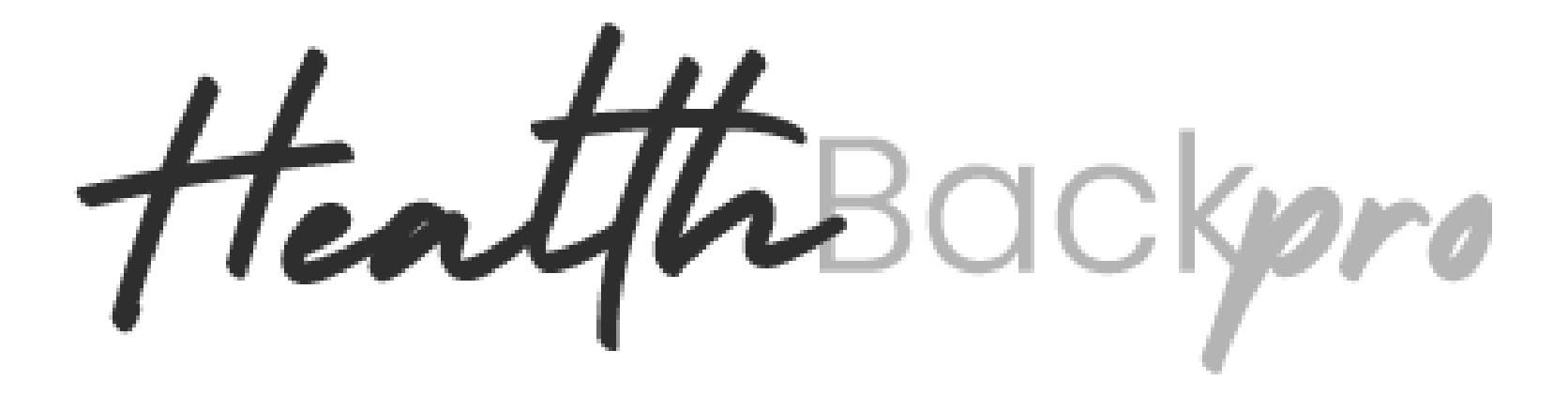 Health Back Pro Logo