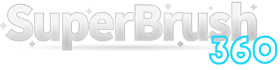 SuperBrush 360 Logo